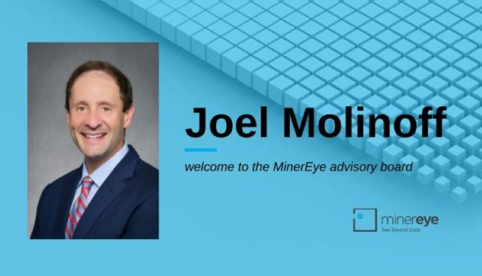 MinerEye welcomes cyber security leader Joel Molinoff to its advisory board