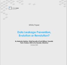 Data Leakage Prevention, Evolution or Revolution?